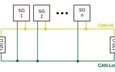 Примеры подключения CAN шины.